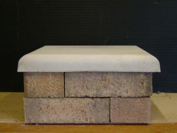 Wall Concrete Pillar Toppers : Woodburn concrete pillar caps
