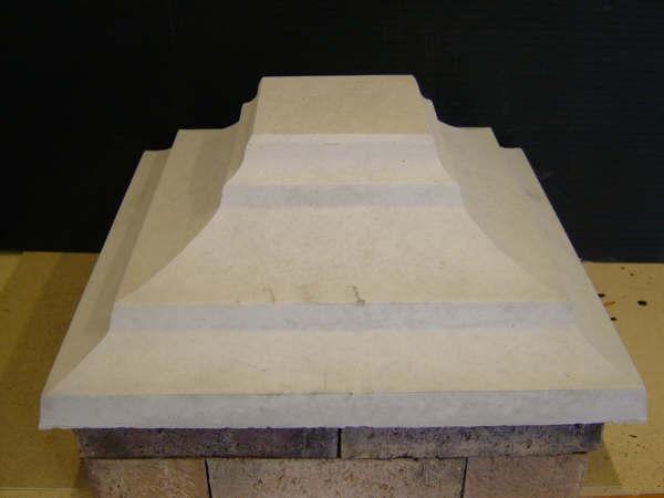Woodburn Concrete Pillar Caps