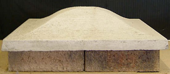Woodburn Concrete Pillar Caps